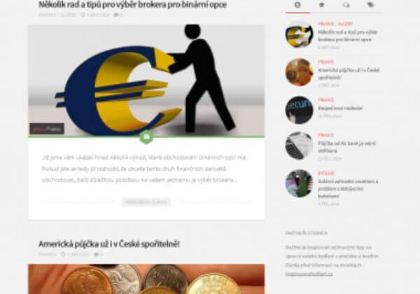 Sepsání a publikace článku na magazínu Ta-gita.cz
