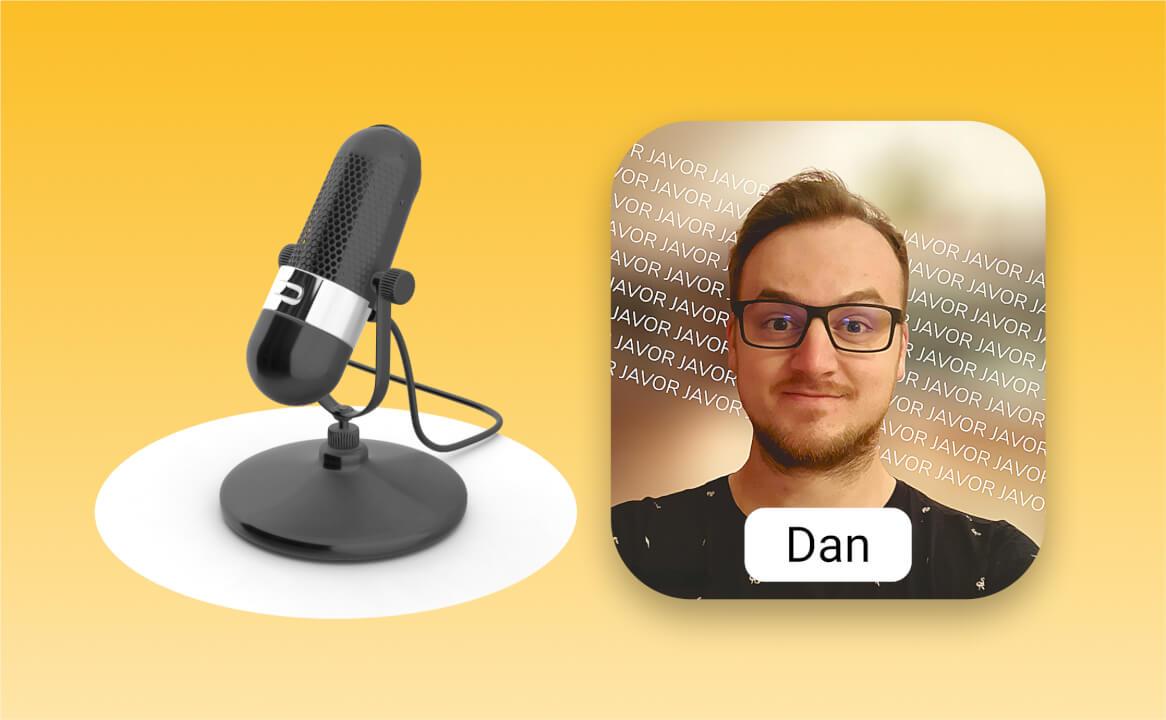 2min mužského hlasu pro produktová videa