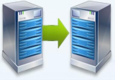 převod www/webu na nový/jiný hosting