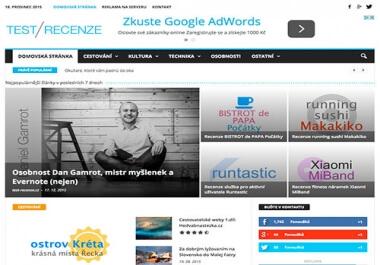 Publikuji rychle PR článek na webu www.test-recenze.cz
