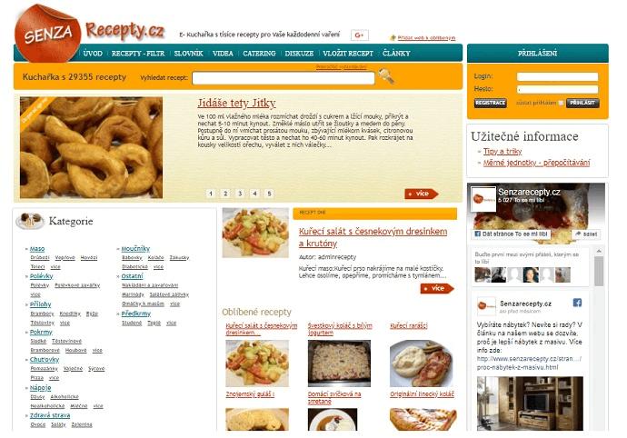 PR článek trvale na Senzarecepty.cz
