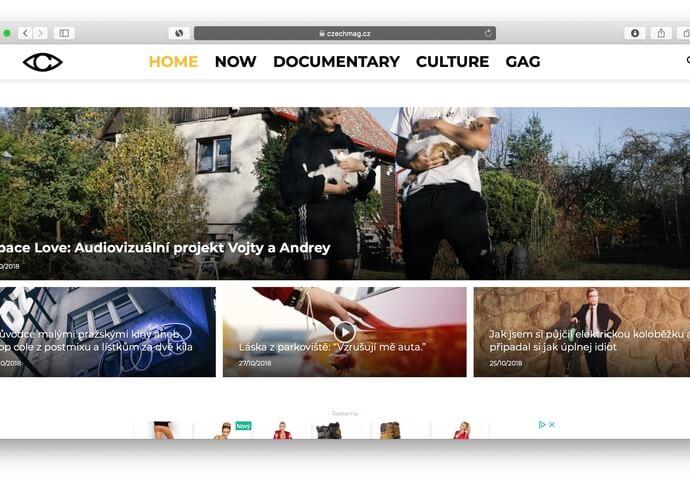 Publikujeme článek o libovolném tématu na webu CZECHMAG