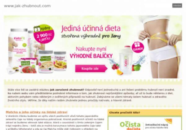 Trvalé umístění článku na magazín o hubnutí Jak-zhubnout.com