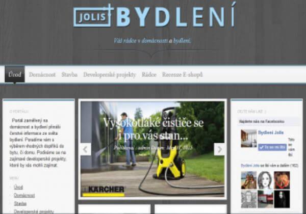 PR článek na jolis-bydleni.cz - PR3