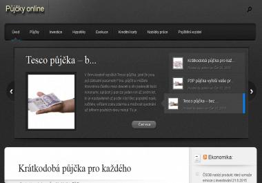 PR článek na webu hotovostihned.cz