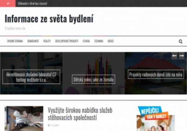PR článek o bydlení na webu cnnn.cz PR3