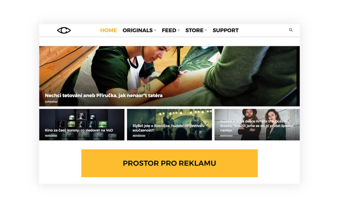 Umístíme reklamní banner na web CZECHMAG