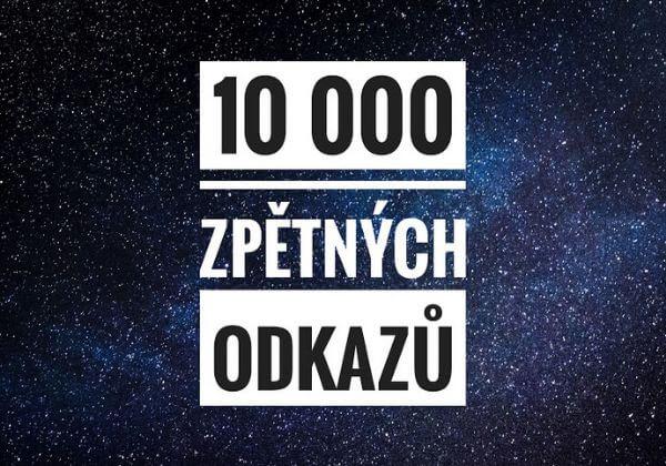 10 000 SEO zpětných odkazů - DNES 1+1 AKCE - GSA odkazy