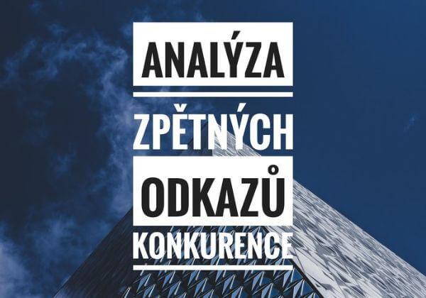 Analýza zpětných odkazů | Analýza Vaší konkurence