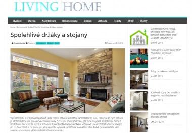 Publikuji Váš článek na portále o bydlení LivingHome