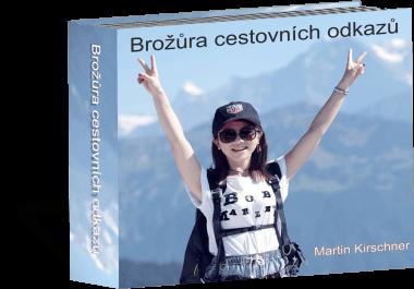 Brožura s cestovatelskými odkazy kde ušetřit