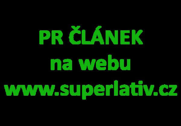 Napíši a publikuji článek na superlativ.cz