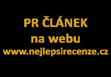 Napíši a publikuji článek na nejlepsirecenze.cz