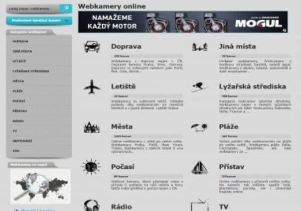 Odkaz z www.top-kamery.cz na 6 měsíců (Online kamery)