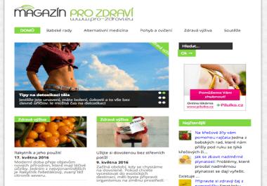 Publikujeme váš článek na webu www.pro-zdravi.eu