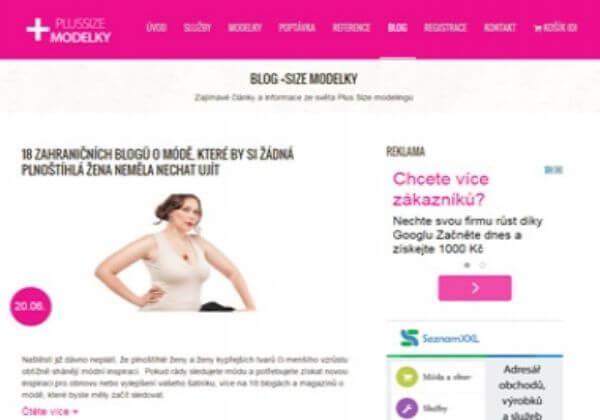 Zveřejněním váš článek v blogu pro plus size ženy a dívky s konfekcí 40 a více...