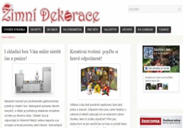 Publikujeme článek na www.zimni-dekorace.cz