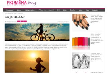 Nabízím  publikaci PR článku na www.PromenaZeny.cz