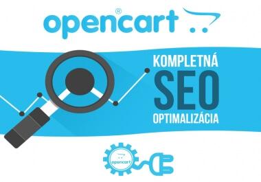 Kompletná SEO optimalizácia pre systém OpenCart