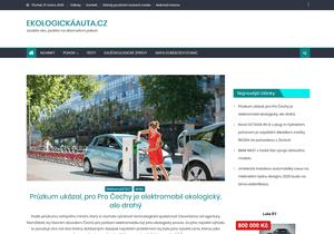 Zveřejnění článku na EkologickáAuta.cz