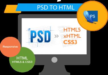Kódování webů z PSD do HTML