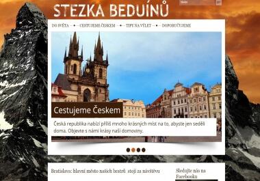Publikace na cestovním magazínu StezkaBeduinu.eu