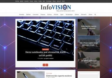 Napsání a publikace na magazínu InfoVision.cz