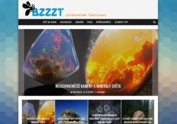Publikace na magazínu Bzzzt.cz