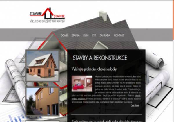 Umístění originálního článku na téma bydlení, stavba ...