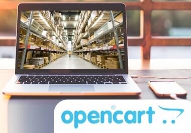 Vylepšení eshopu Opencart