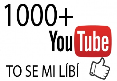 1000 + Youtube To se mi líbí