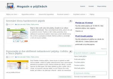 Publikace PR článku v magazínu o půjčkách