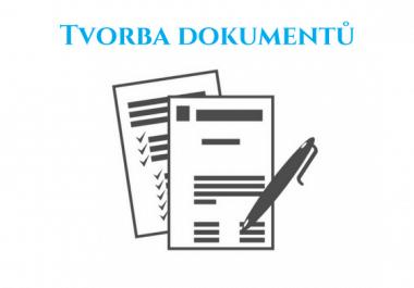 Napíši vám profesionální obchodní dopis