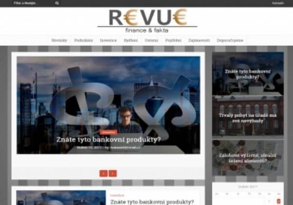 Publikace na RevueFF.cz