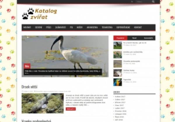 Publikace na Katalogzvirat.cz