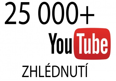 25 000+ Youtube zhlédnutí