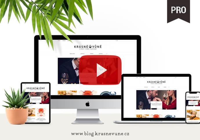 Profesionální WEB, na který budete