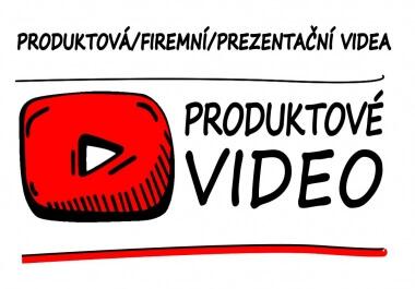 Firemní/produktové video libovolného motivu