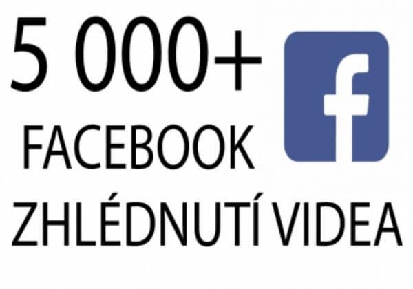 1 000+ Facebook zhlédnutí videa
