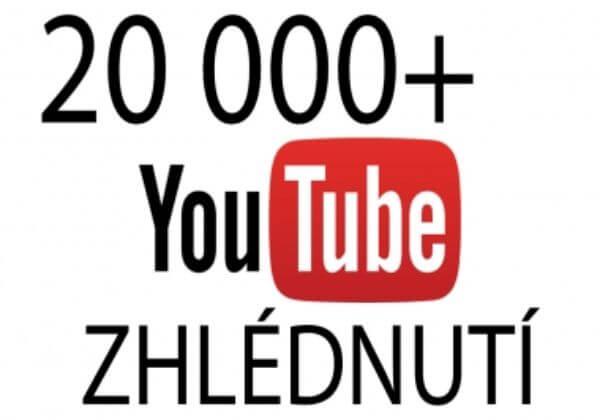 20 000+ Youtube zhlédnutí