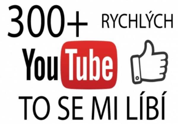 300+ Youtube To se mi líbí