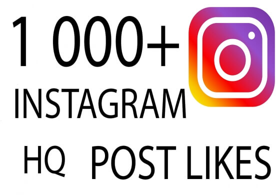 1 000+ Instagram Post Likes