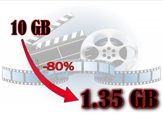 Zmenšení velikosti vašeho videa bez změny kvality!