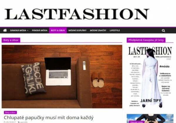 Publikuji článek na webu o módě lastfashion.cz