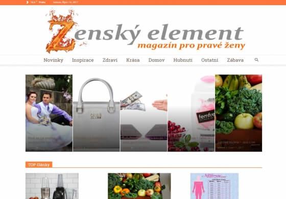 Publikace na ZenskyElement.cz