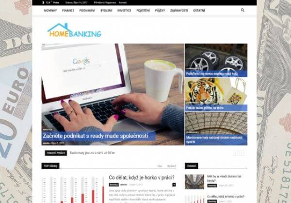 Publikace na Homebanking.cz