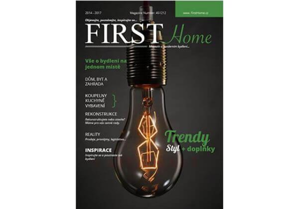 2in1 Publikace na magazínu FirstHome.cz a PressWeb