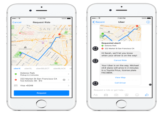 Facebook messenger bot - nástroj