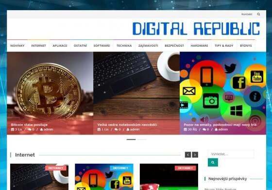 Publikace na DigitalRepublic.cz