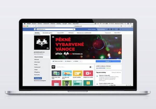 Profilovka a timeline obrázek na FB